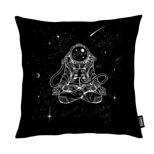 "JUNIQE Deko Kissen Astronauten ""Zen Astronaut"" von JUNIQE"