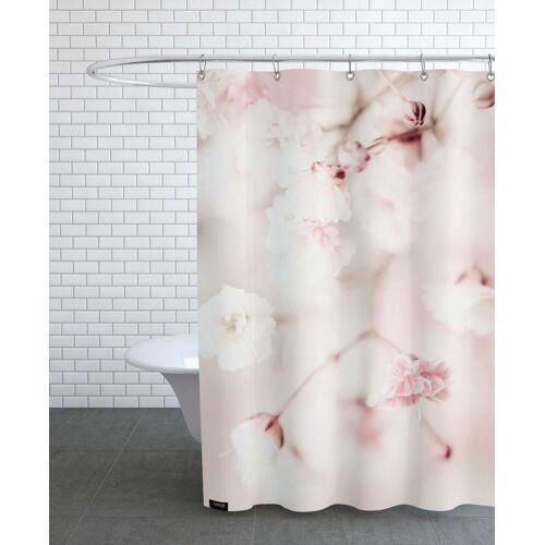 """JUNIQE Duschvorhang Blumen """"Pink Linen Gypsophila"""" von JUNIQE"""