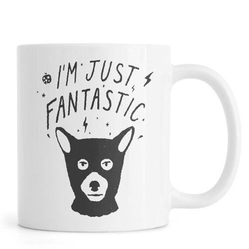 """JUNIQE Tassen Füchse """"I'm Just Fantastic"""" von JUNIQE"""