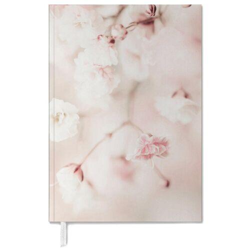 """JUNIQE Terminplaner 2021 Blumen """"Pink Linen Gypsophila"""" von JUNIQE"""