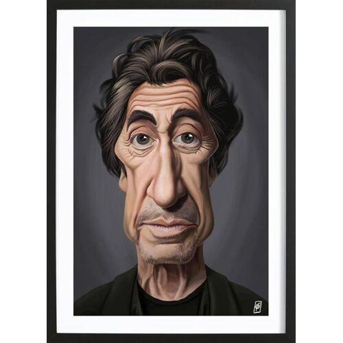 """JUNIQE Bild Al Pacino """"Al Pacino"""" von JUNIQE - Künstler: Rob Snow   Creative"""