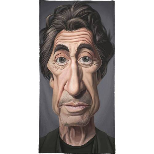 "JUNIQE Handtücher Al Pacino ""Al Pacino"" von JUNIQE"
