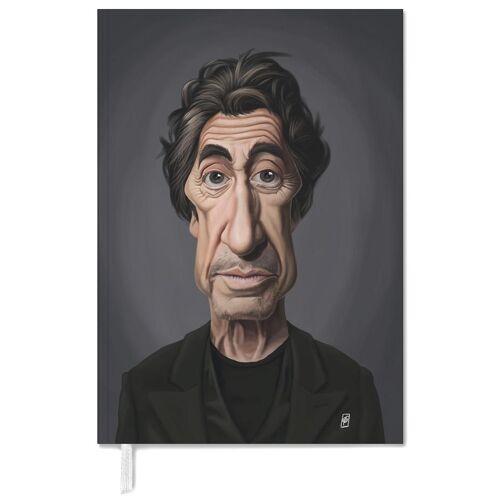 "JUNIQE Terminplaner 2021 Al Pacino ""Al Pacino"" von JUNIQE"