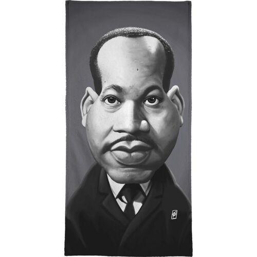 """JUNIQE Handtücher Politische Figuren """"Martin Luther King"""" von JUNIQE"""