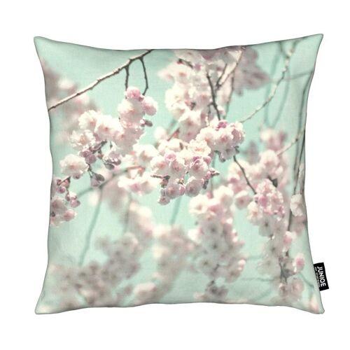 """JUNIQE Deko Kissen Blumen """"Happy Spring"""" von JUNIQE"""