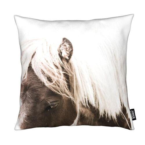 """JUNIQE Deko Kissen Pferde """"Horse II"""" von JUNIQE"""