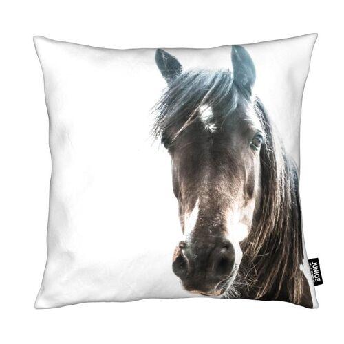 "JUNIQE Deko Kissen Pferde ""Horse"" von JUNIQE"