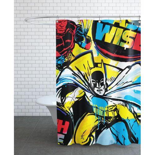 "JUNIQE Duschvorhang Batman ""Cash Wise"" von JUNIQE"