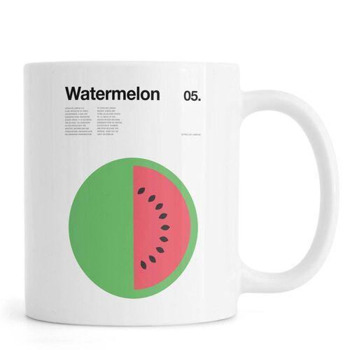 """JUNIQE Tassen Wassermelonen """"Watermelon"""" von JUNIQE"""