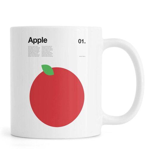 """JUNIQE Tassen Äpfel """"Apple"""" von JUNIQE"""