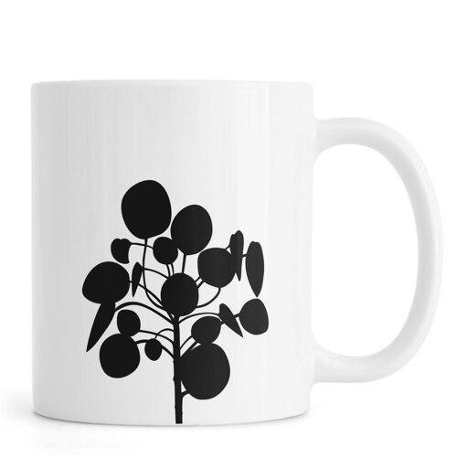 """JUNIQE Tassen Blätter & Pflanzen """"Pilea"""" von JUNIQE"""