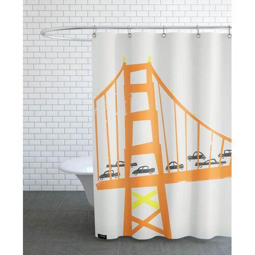"""JUNIQE Duschvorhang New York """"Golden Gate"""" von JUNIQE"""