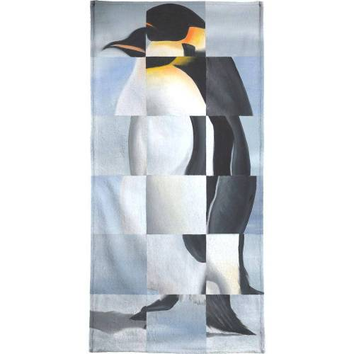 "JUNIQE Handtücher Pinguine ""Penguin"" von JUNIQE"