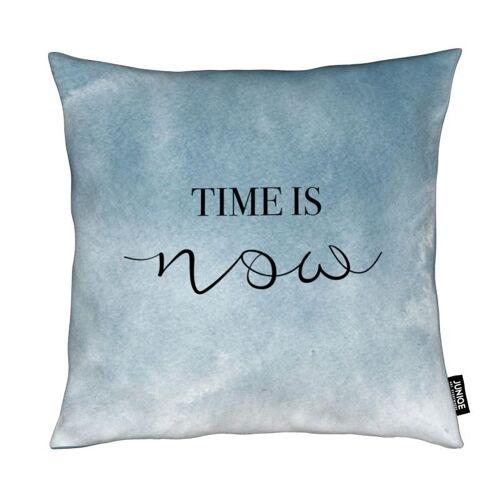 """JUNIQE Deko Kissen Himmel & Wolken """"Time Is Now"""" von JUNIQE"""