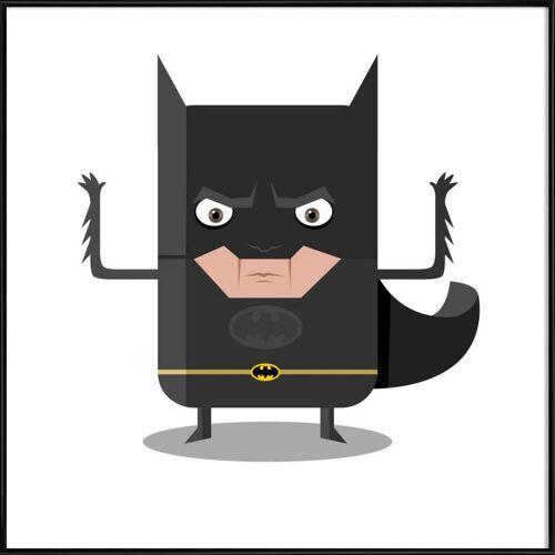 """JUNIQE Kunstdruck Batman """"Batman"""" von JUNIQE - Künstler: Ballooon"""