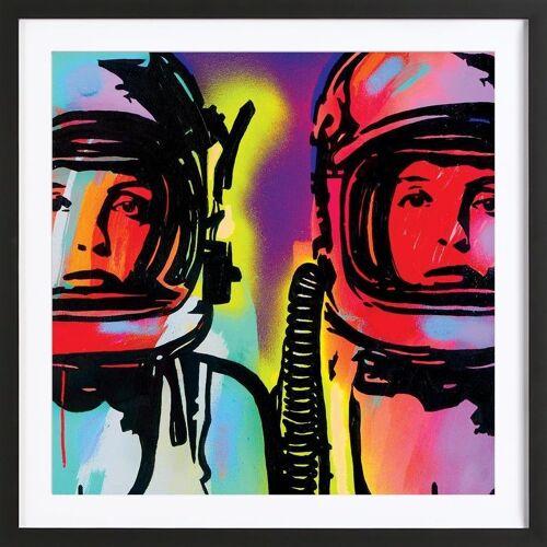 "JUNIQE Bild Astronauten ""Astronauts"" von JUNIQE - Künstler: JRuggs"