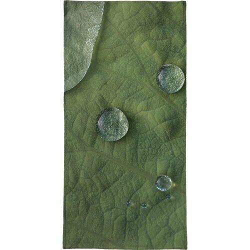 "JUNIQE Handtücher Blätter & Pflanzen ""Lotus Water Drops"" von JUNIQE"