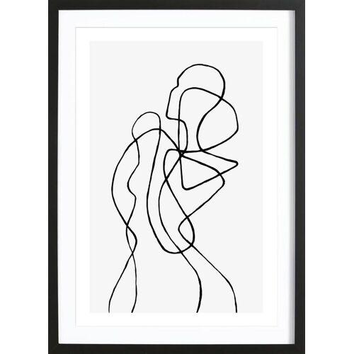 """JUNIQE Bild Menschen """"Figuratone"""" von JUNIQE - Künstler: Peytil"""