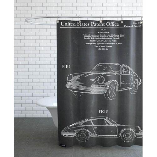 """JUNIQE Duschvorhang Autos """"Vintage Car"""" von JUNIQE"""