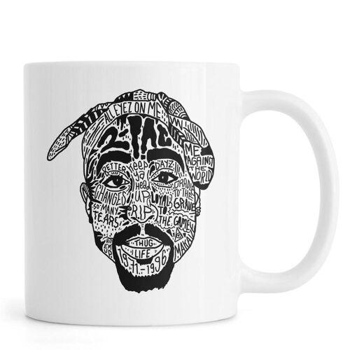 "JUNIQE Tassen Tupac ""Tupac"" von JUNIQE"