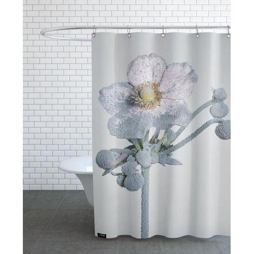 """JUNIQE Duschvorhang Blumen """"Staub - Japanische Anemone"""" von JUNIQE"""