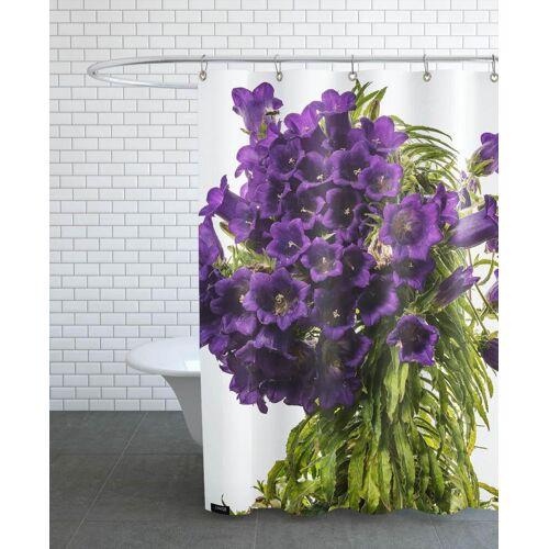 """JUNIQE Duschvorhang Blumen """"Flora - Glockenblume"""" von JUNIQE"""