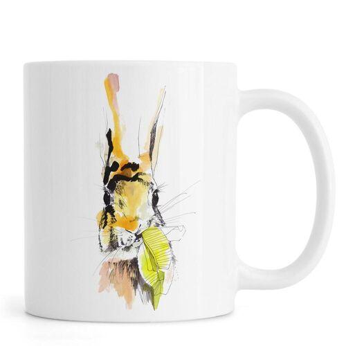 """JUNIQE Tassen Kaninchen """"Hummel"""" von JUNIQE"""