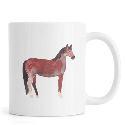 """JUNIQE Tassen Pferde """"Horse"""" von JUNIQE"""