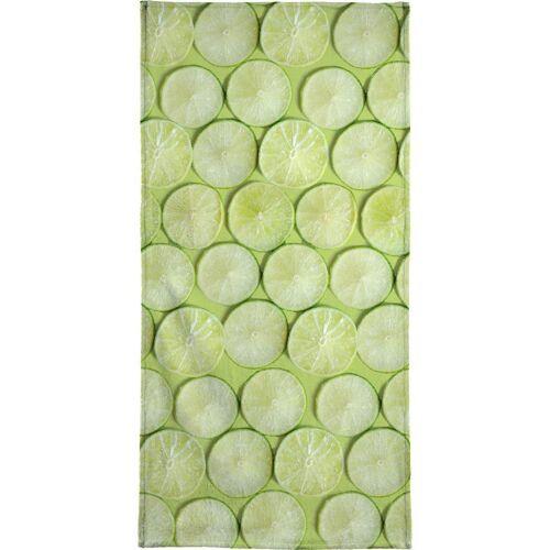 "JUNIQE Handtücher Zitronen ""Lime"" von JUNIQE"