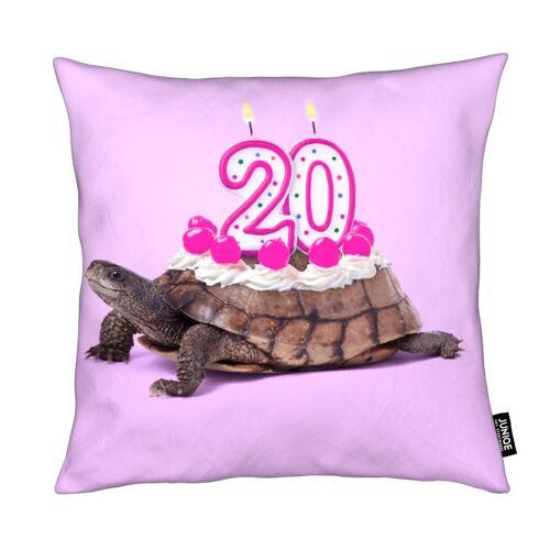 "JUNIQE Deko Kissen Schildkröten ""20 Turtle"" von JUNIQE"