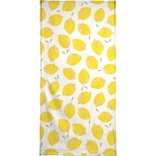 """JUNIQE Handtücher Zitronen """"Lemon"""" von JUNIQE"""