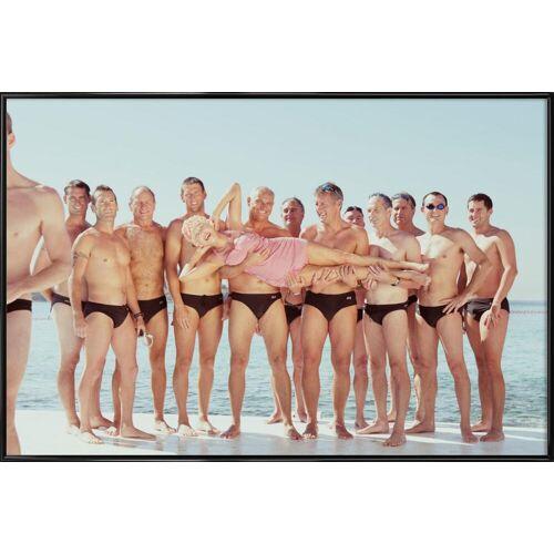 """JUNIQE Kunstdruck Gruppen """"Kewpie 1"""" von JUNIQE - Künstler: Julian Wolkenstein"""
