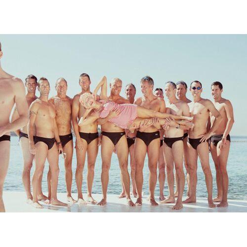 """JUNIQE Leinwandbild Gruppen """"Kewpie 1"""" von JUNIQE - Künstler: Julian Wolkenstein"""