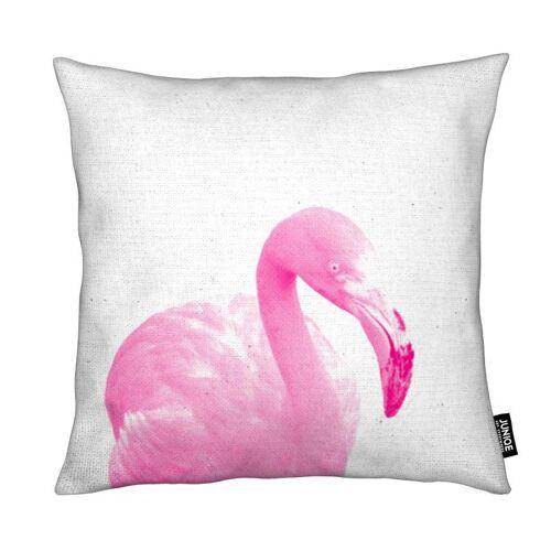 "JUNIQE Deko Kissen Flamingos ""Flamingo 03"" von JUNIQE"