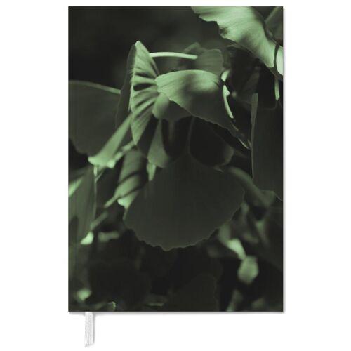 """JUNIQE Terminplaner 2021 Blätter & Pflanzen """"Ginkgo 02"""" von JUNIQE"""