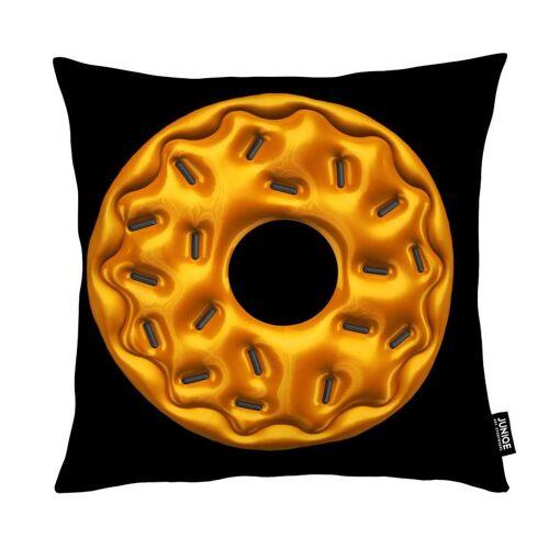 """JUNIQE Deko Kissen Süßigkeiten """"Donut"""" von JUNIQE"""