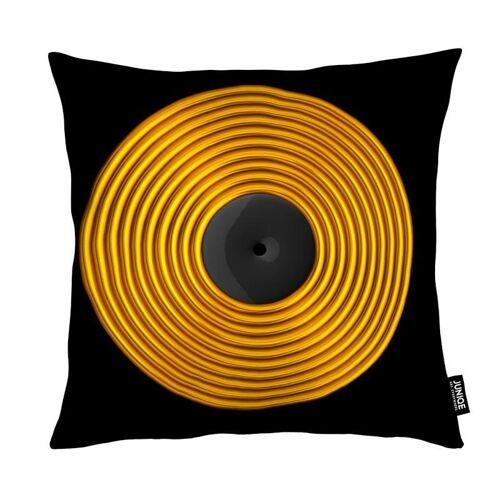 """JUNIQE Deko Kissen Musik """"Vinyl"""" von JUNIQE"""
