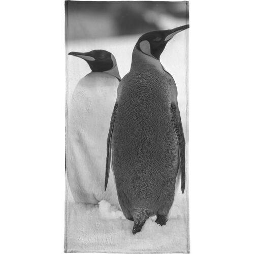 "JUNIQE Handtücher Pinguine ""The Penguins"" von JUNIQE"