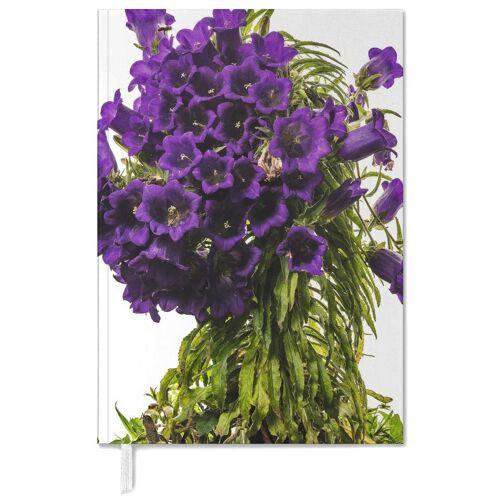 """JUNIQE Terminplaner 2021 Blumen """"Flora - Glockenblume"""" von JUNIQE"""