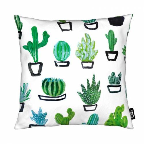 "JUNIQE Deko Kissen Kaktus ""Cacti"" von JUNIQE"