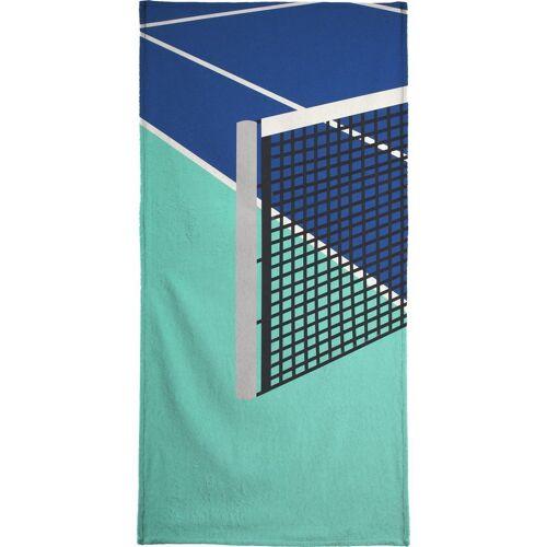 "JUNIQE Handtücher Tennis ""Arizona Tennis Club"" von JUNIQE"