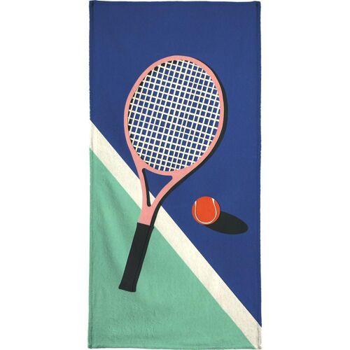 """JUNIQE Handtücher Tennis """"Malibu Tennis Club"""" von JUNIQE"""