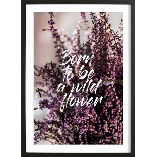 """JUNIQE Bild Blumen """"Midsommar"""" von JUNIQE - Künstler: GLOSSYBOX"""