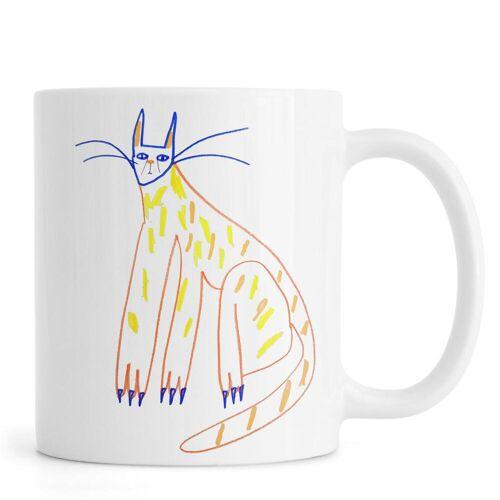"JUNIQE Tassen Katzen ""Cat"" von JUNIQE"