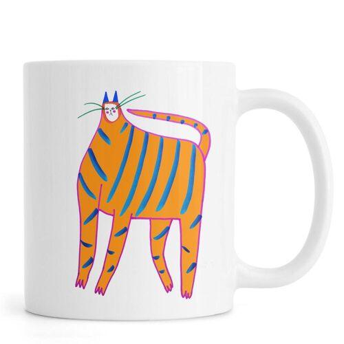 "JUNIQE Tassen Katzen ""Tiger Cat"" von JUNIQE"