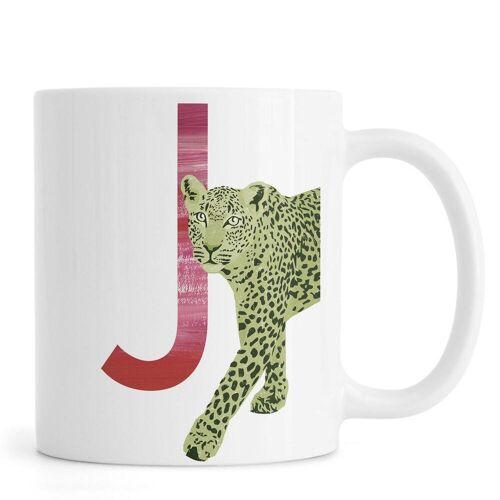 """JUNIQE Tassen Jaguare """"J Jaguar"""" von JUNIQE"""