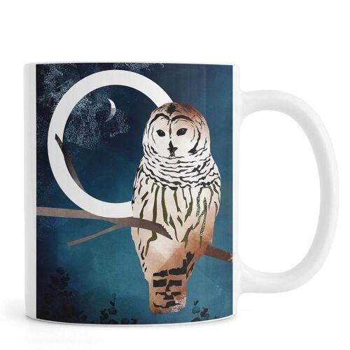 "JUNIQE Tassen Eulen ""O Owl"" von JUNIQE"