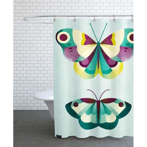 """JUNIQE Duschvorhang Schmetterlinge """"Schmetterlinge"""" von JUNIQE"""