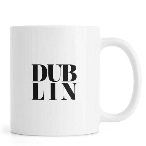 "JUNIQE Tassen Dublin ""DUBLIN"" von JUNIQE"