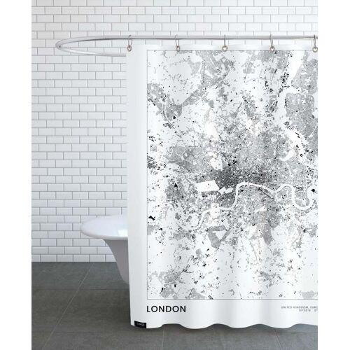 """JUNIQE Duschvorhang London """"London"""" von JUNIQE"""